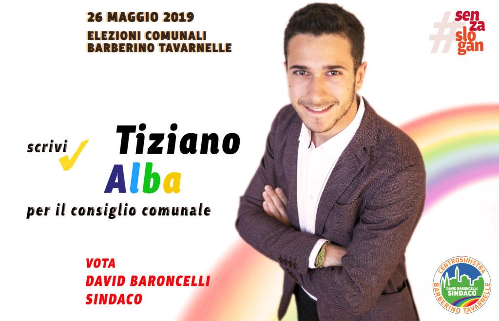 Tiziano Alba grafica